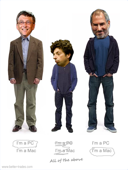 3 gigantes de TI em pé de guerra: Apple x Microsoft x Google