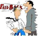"""Você está preparado para receber um """"feedback""""sobre o seu trabalho ?"""