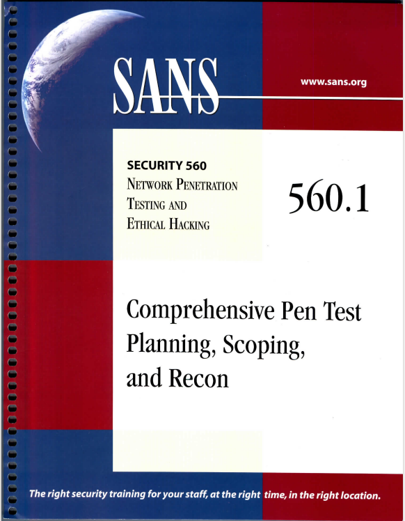 SEC560: Network Penetration Testing and Ethical Hacking 2015