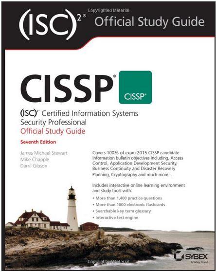 Sybex CISSP ISC2 –  7th para consulta