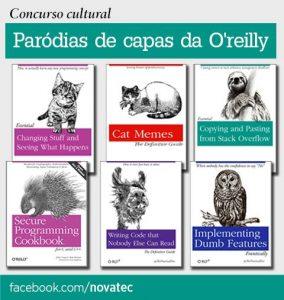 Concurso Paródias de capas da O'Reilly – Teste sua criatividade!