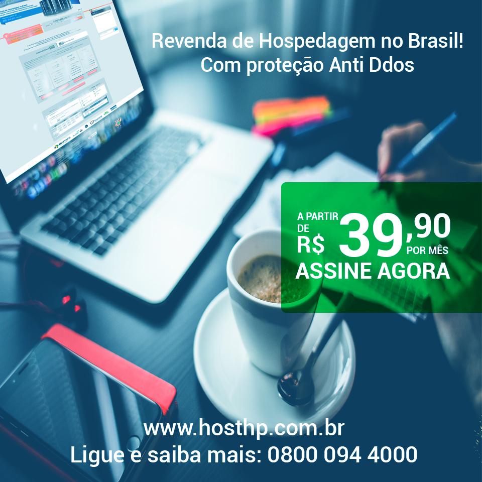 Revenda de Hospedagem Linux HostHP!