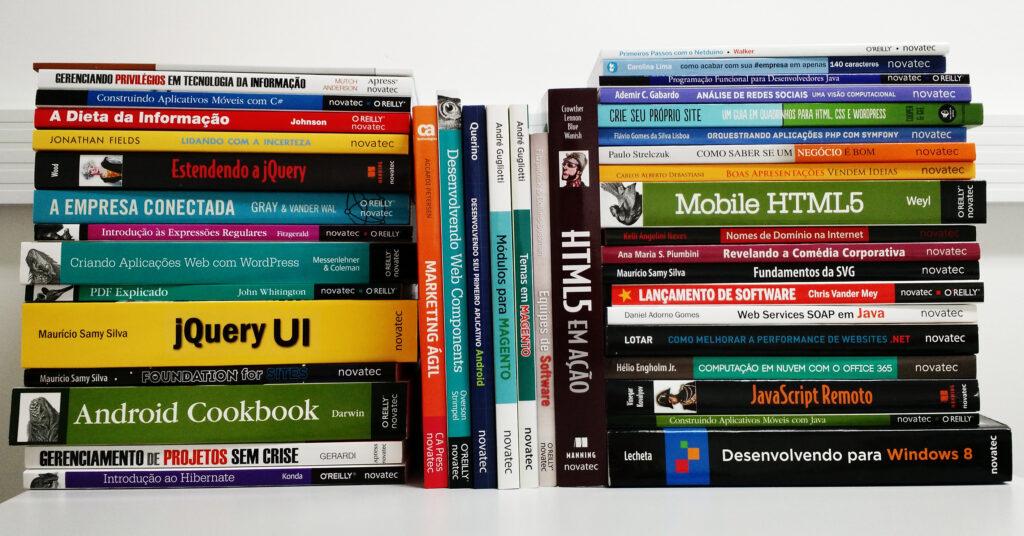 Mais de 40 livros da Novatec em saldão até domingo e com 70% de desconto