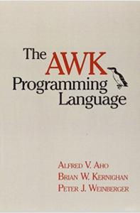 The AWK Programming Language – um perfeito clássico